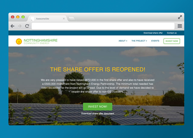 Nottinghamshire Community Energy | Corporate Site